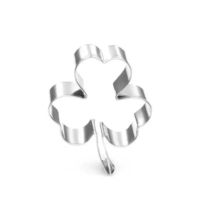 "1.5"" Shamrock Clover Leaf Metal Cookie Cutter 
