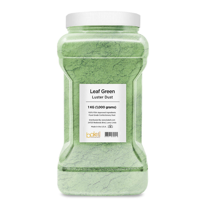 Leaf Green Pearlized Edible Luster Dust-Luster Dusts-Bakell