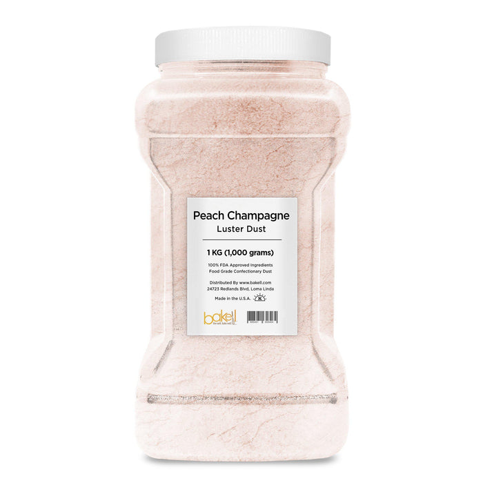 Peach Champagne Edible Pearlized Luster Dust-Luster Dusts-Bakell
