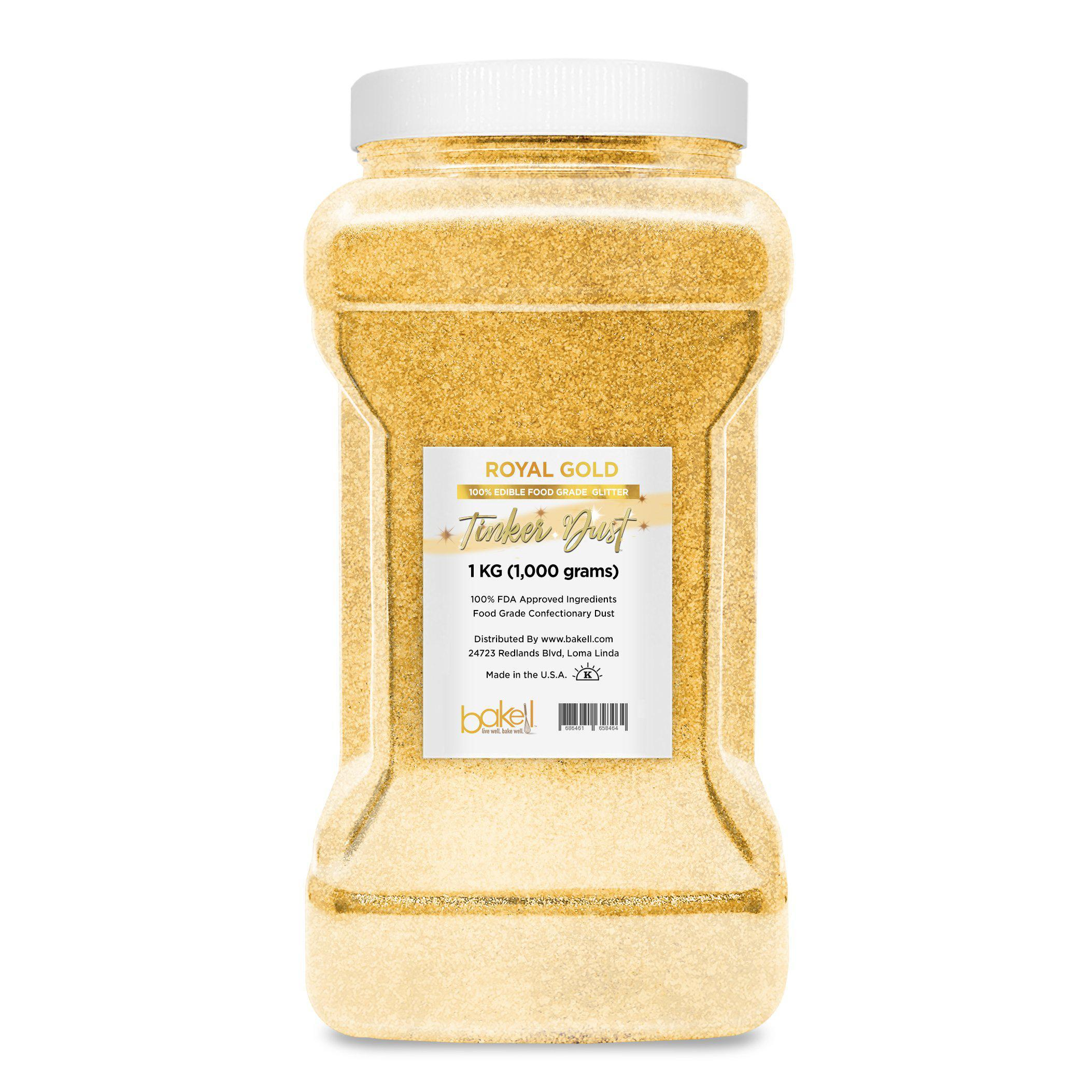 Royal Gold Edible Tinker Dust | Bulk Sizes-Bulk_Tinker Dust-Bakell