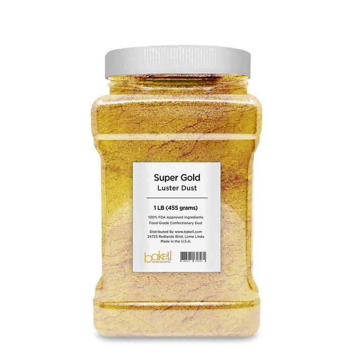 Super Gold Edible Luster Dust-Luster Dusts-Bakell