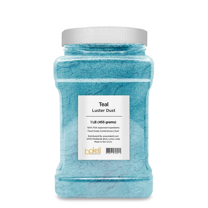 Teal Edible Luster Dust | Bulk Sizes-Bulk_Luster Dust-Bakell