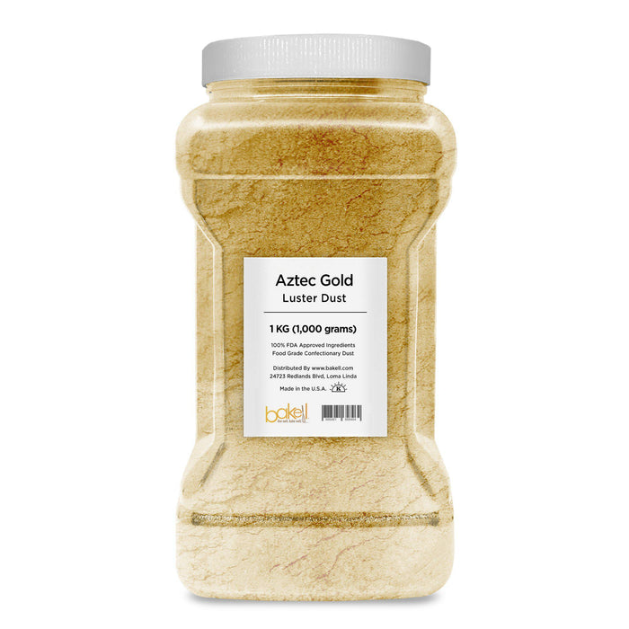 Aztec Gold Edible Pearlized Luster Dust-Luster Dusts-Bakell