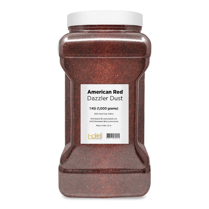 American Red Decorating Dazzler Dust | Bakell-Disco Dusts-Bakell