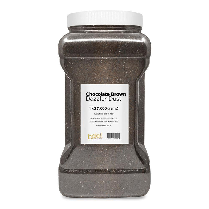 Chocolate Brown Decorating Dazzler Dust | Bakell-Disco Dusts-Bakell