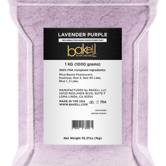 Lavender Purple Edible Luster Dust-Luster Dusts-Bakell
