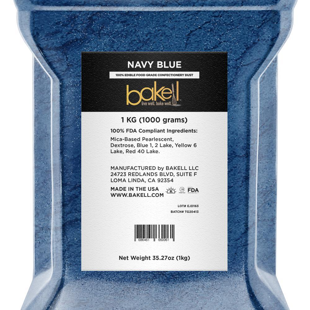 Navy Blue Edible Luster Dust-Luster Dusts-Bakell