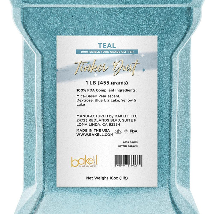 Teal Tinker Dust | Bulk Sizes-Bulk_Tinker Dust-Bakell