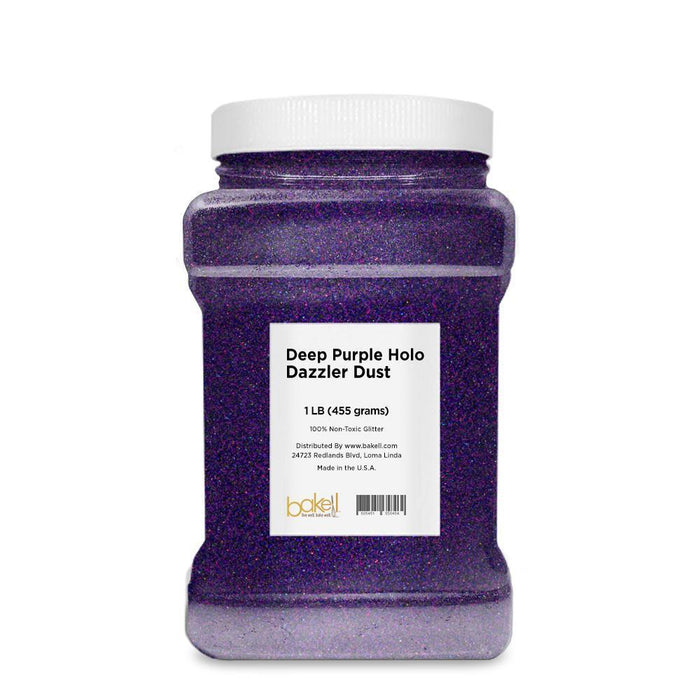 Deep Purple Hologram Decorating Dazzler Dust 5g | Bakell-Disco Dusts-Bakell