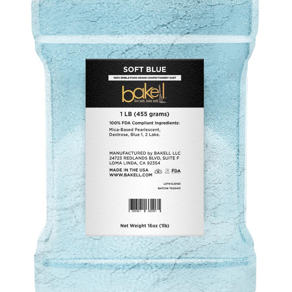 Soft Blue Edible Luster Dust-Luster Dusts-Bakell