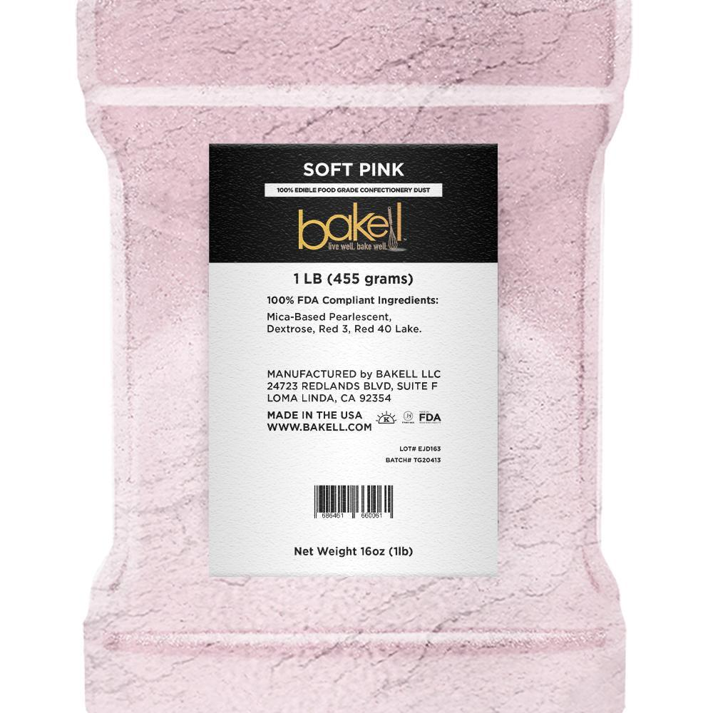 Soft Pink Edible Luster Dust-Luster Dusts-Bakell