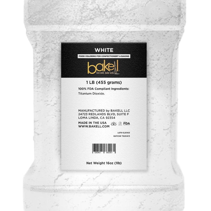 White Petal Dust | Food Coloring Powder-Petal Dusts-Bakell