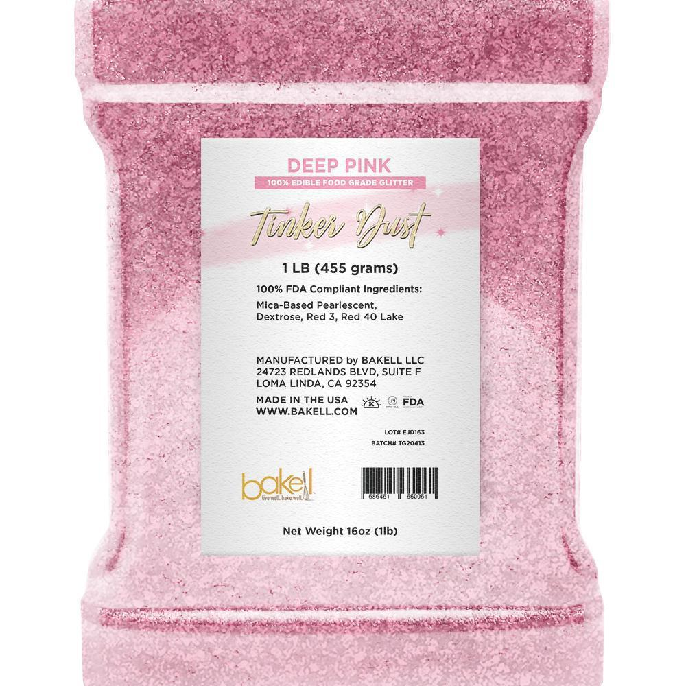 Deep Pink Shimmer Tinker Dust | Bulk Sizes-Bulk_Tinker Dust-Bakell