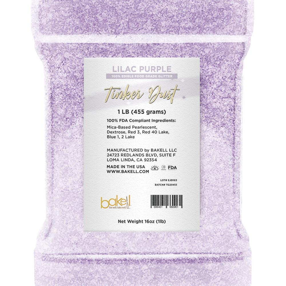Lilac Purple Tinker Dust Edible Glitter | Food Grade Glitter-Tinker Dust-Bakell