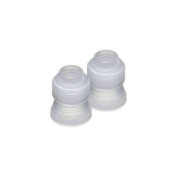 2 PC Icing Piping Nozzle Buttercream Coupler-Decorating Tools-Bakell- | Bakell.com