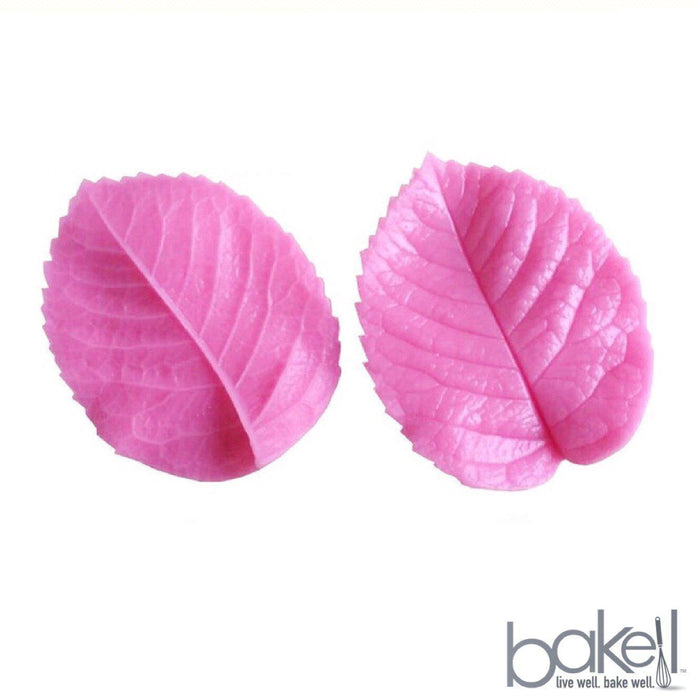 2 PC Rose Leaf Petal Veiner 3x2.5 inches | Bakell-Silicone Molds-Bakell- | Bakell.com