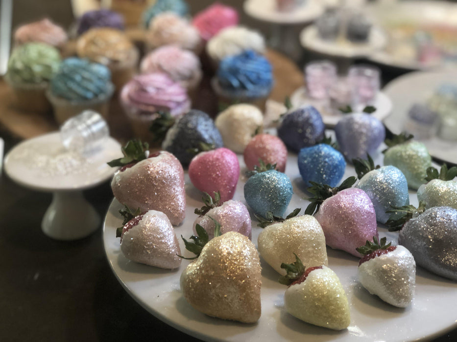 Mothers Day & Easter Edible Glitter Pack | FDA Approved Edible Glitter | Pink, Green, Purple 100% Edible Glitter | Tinker Dust Edible Glitter Pack | MICA Edible Powder | Bakell.com