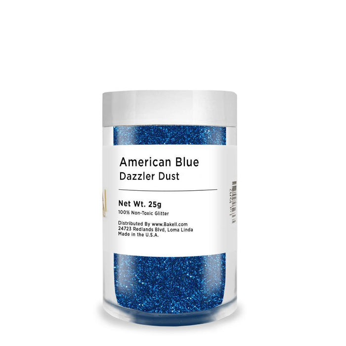 American Blue Decorating Dazzler Dust | Bakell-Disco Dusts-Bakell