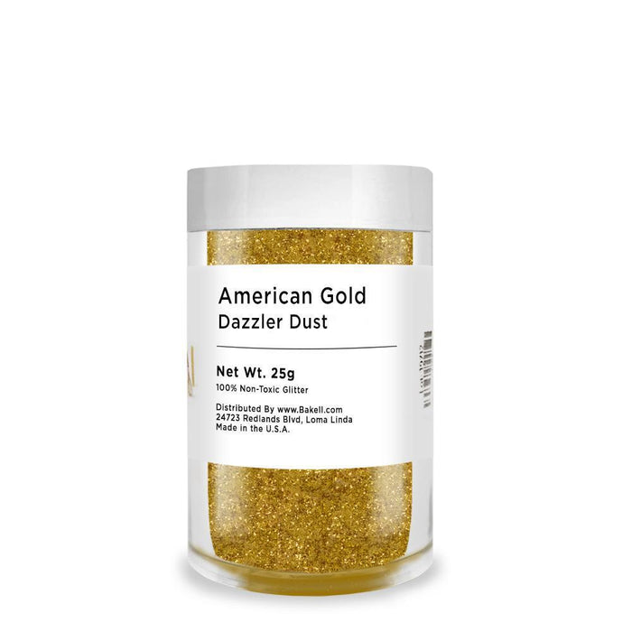 American Gold Decorating Dazzler Dust | Bakell-Disco Dusts-Bakell