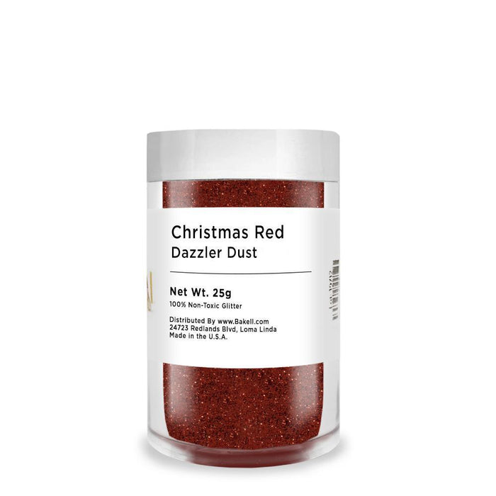 Christmas Red Decorating Dazzler Dust | Bakell-Disco Dusts-Bakell