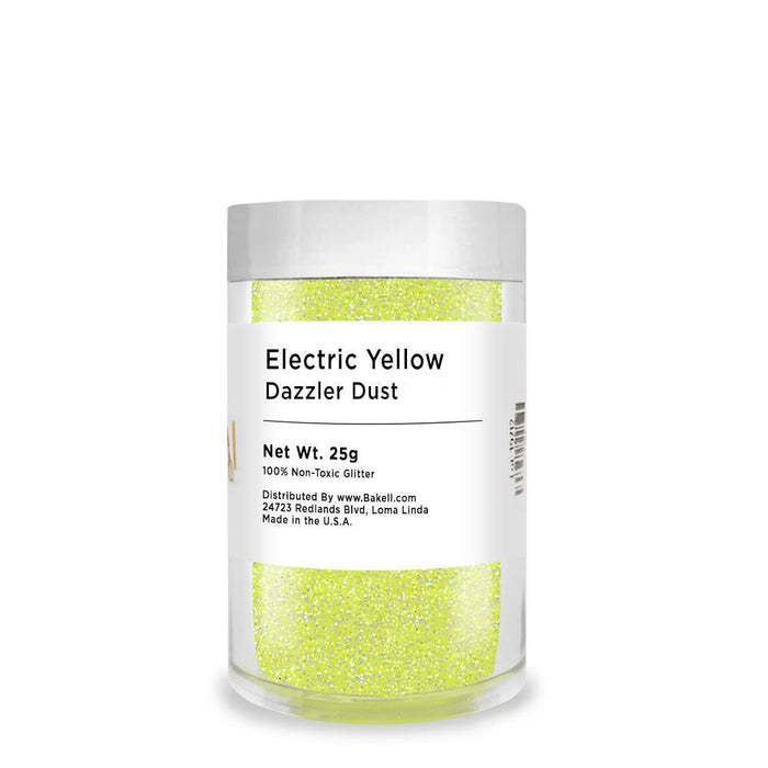 Electric Yellow Dazzler Dust | Bulk Sizes-Bulk_Dazzler Dust-Bakell