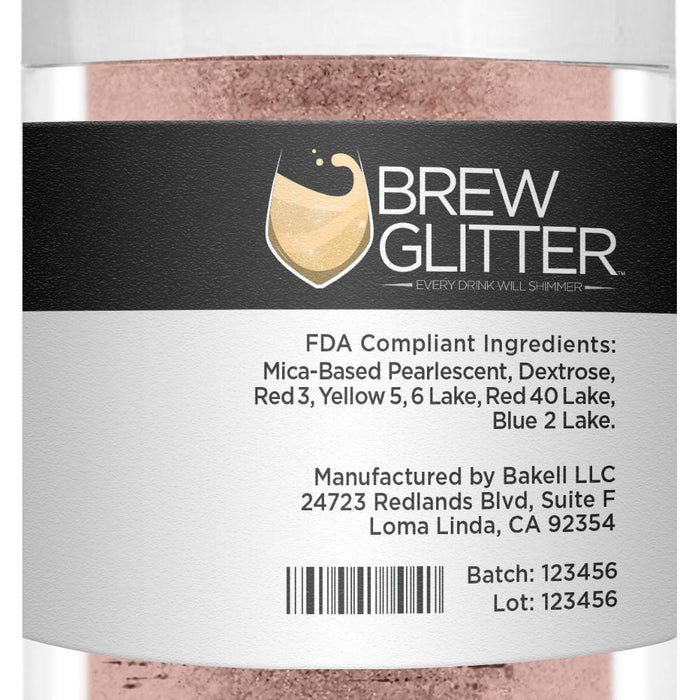 Rose Gold Cocktail Drink Glitter-Cocktail Glitter-Bakell