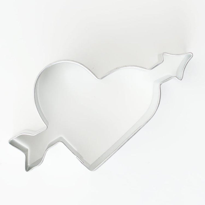 "3"" Heart With Arrow Metal Cookie Cutter 