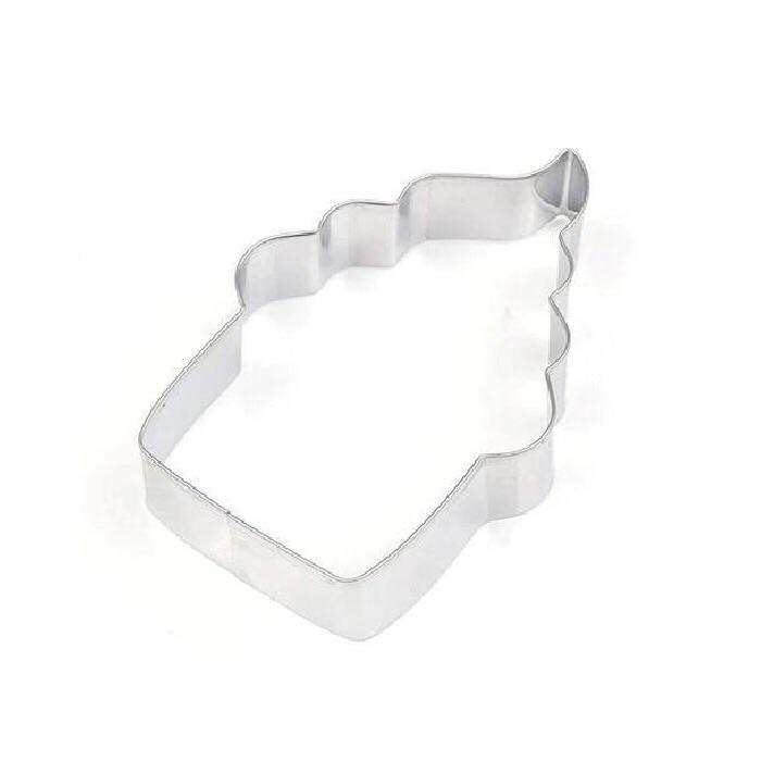 3 Inch Cupcake Metal Cookie Cutter-Cookie Cutters-Bakell
