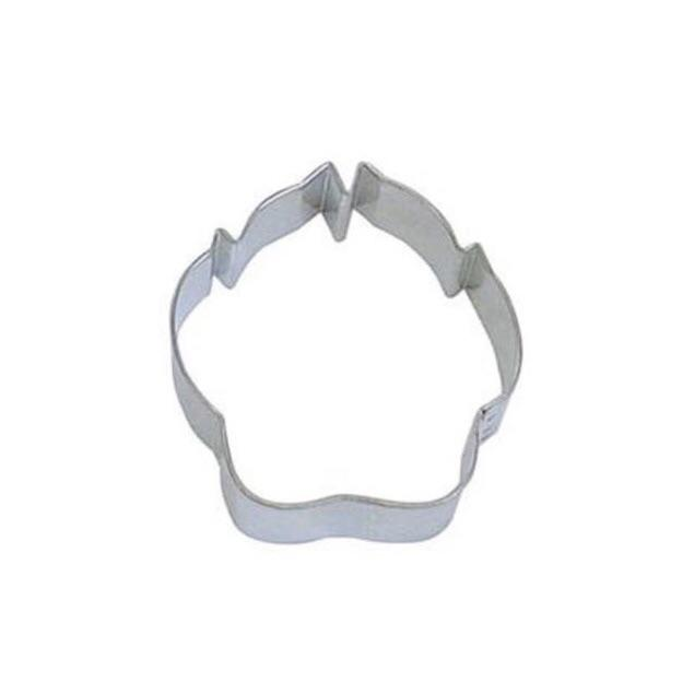 "3"" Paw Print Metal Cookie Cutter-Cookie Cutters-Bakell"