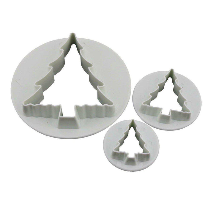 3 PC Christmas Tree Cutters-Decorating Tools-Bakell- | Bakell.com