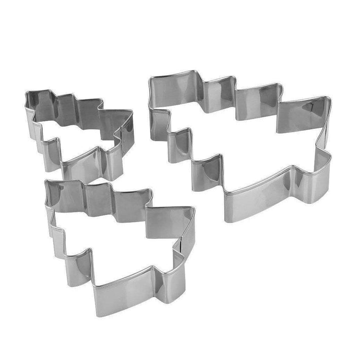 3 PC Nested Christmas Tree Cookie Cutters-Cookie Cutters-Bakell- | Bakell.com
