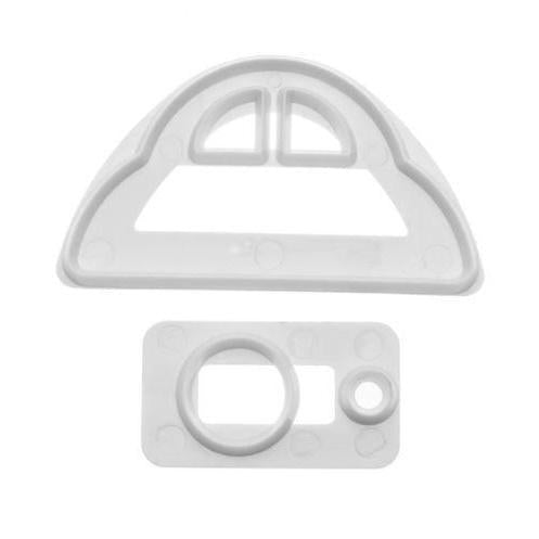 3 x 2 Car 2 PC Fondant Gumpaste Tool Vehicle Tires Wheels-Decorating Tools-Bakell- | Bakell.com
