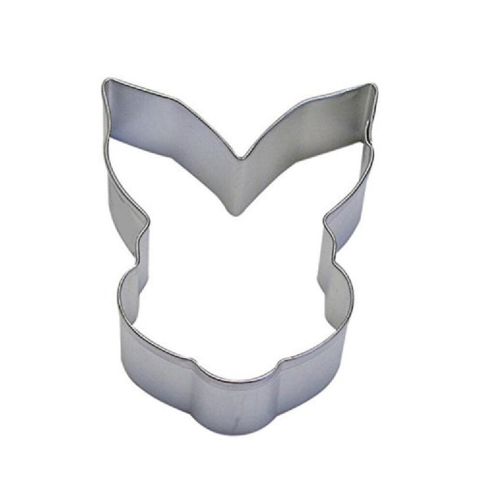 "3.5"" Bunny Rabbit Head Metal Cookie Cutter-Cookie Cutters-Bakell"