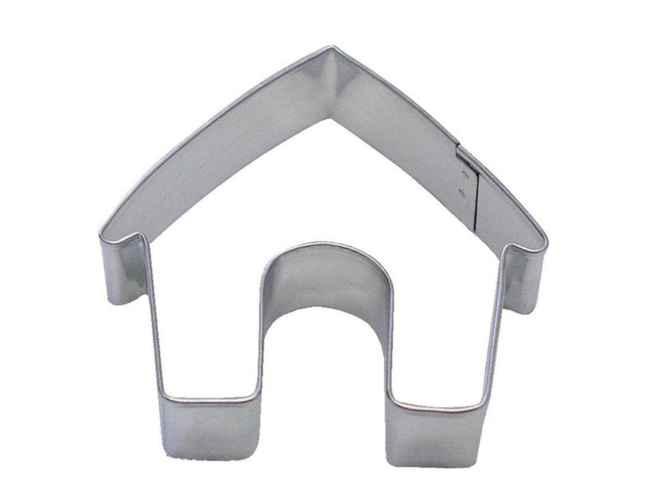 "3.5"" Dog House Metal Cookie Cutter-Cookie Cutters-Bakell"