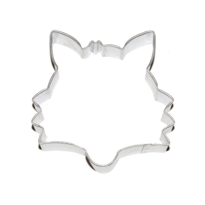 "3.5"" Fox Face Metal Cookie Cutter-Cookie Cutters-Bakell"