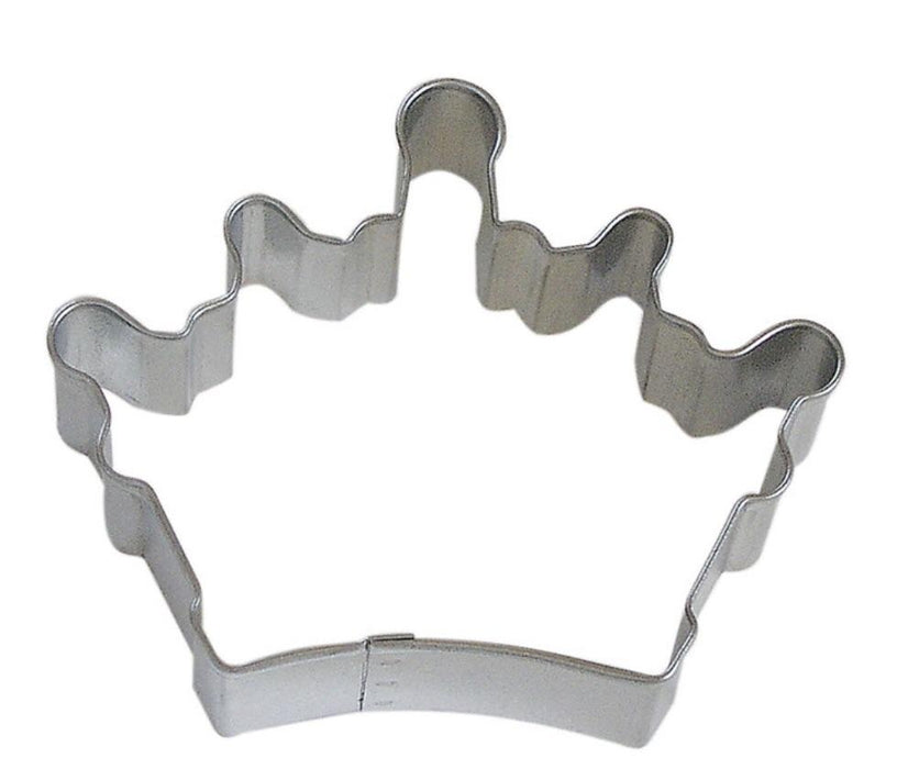 "3.5"" Imperial Queen Royal Crown Metal Cookie Cutter-Cookie Cutters-Bakell"