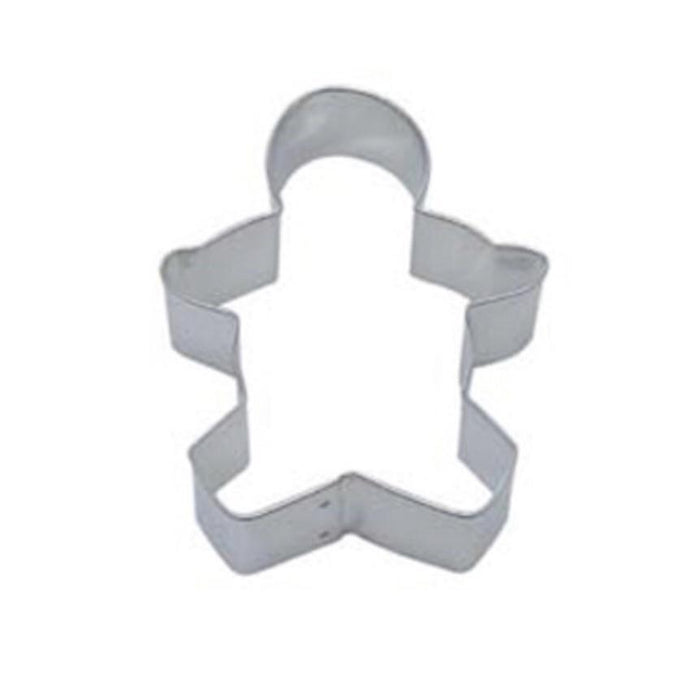 "3.75"" Gingerbread Man Metal Cookie Cutter-Cookie Cutters-Bakell"