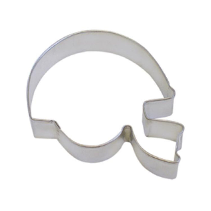 "4"" Football Helmet Metal Cookie Cutter 