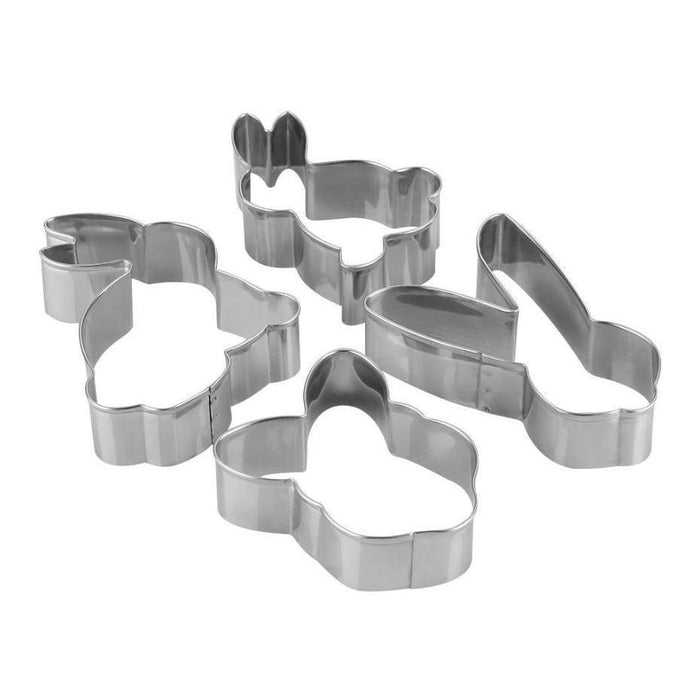 4 PC Adorable Easter Bunny Cookie Cutter Set-Cookie Cutters-Bakell- | Bakell.com