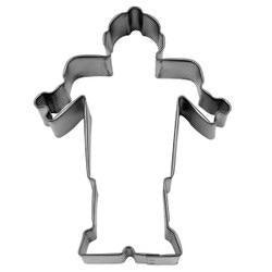 "4"" Robot Metal Cookie Cutter-Cookie Cutters-Bakell"