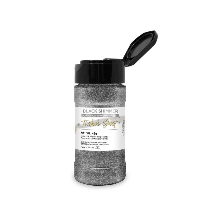 Black Edible Tinker Dust | Bulk Sizes-Bulk_Tinker Dust-Bakell
