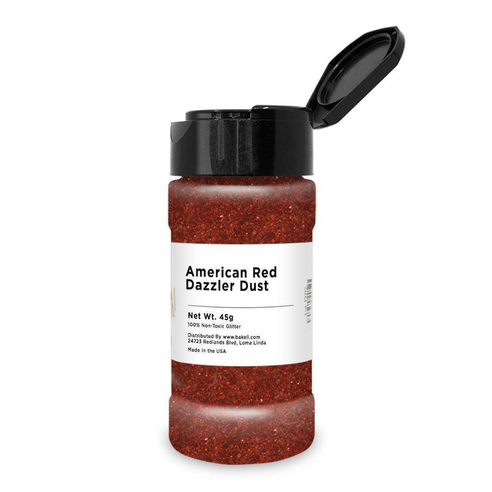 American Red Decorating Dazzler Dust-Disco Dusts-Bakell