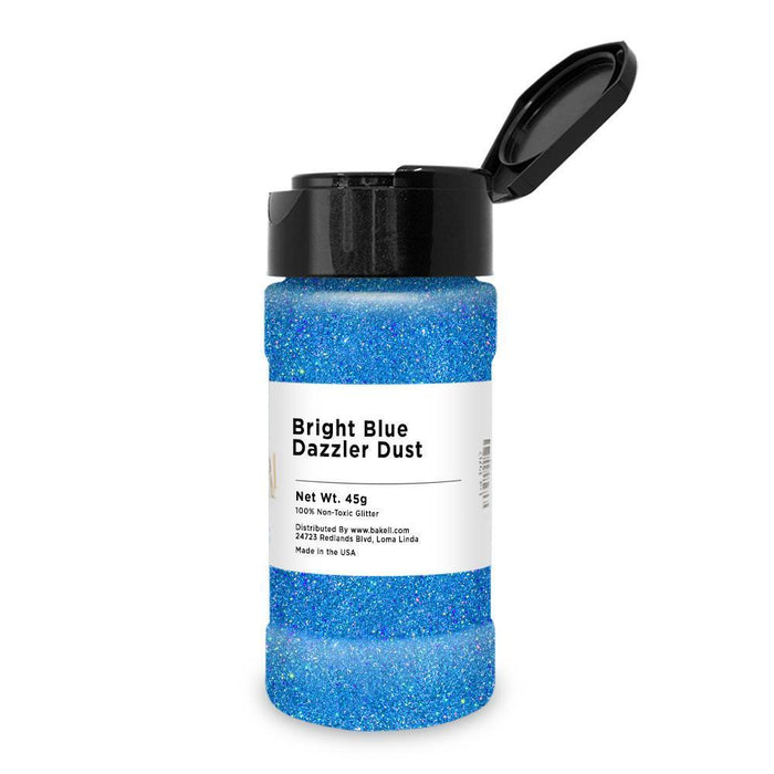 Bright Blue Dazzler Dust | Bulk Sizes-Bulk_Dazzler Dust-Bakell
