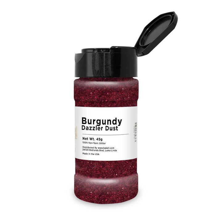Burgundy Dazzler Dust | Bulk Sizes-Bulk_Dazzler Dust-Bakell