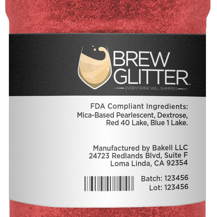 Red Coffee & Latte Glitter-Latte Glitter-Bakell