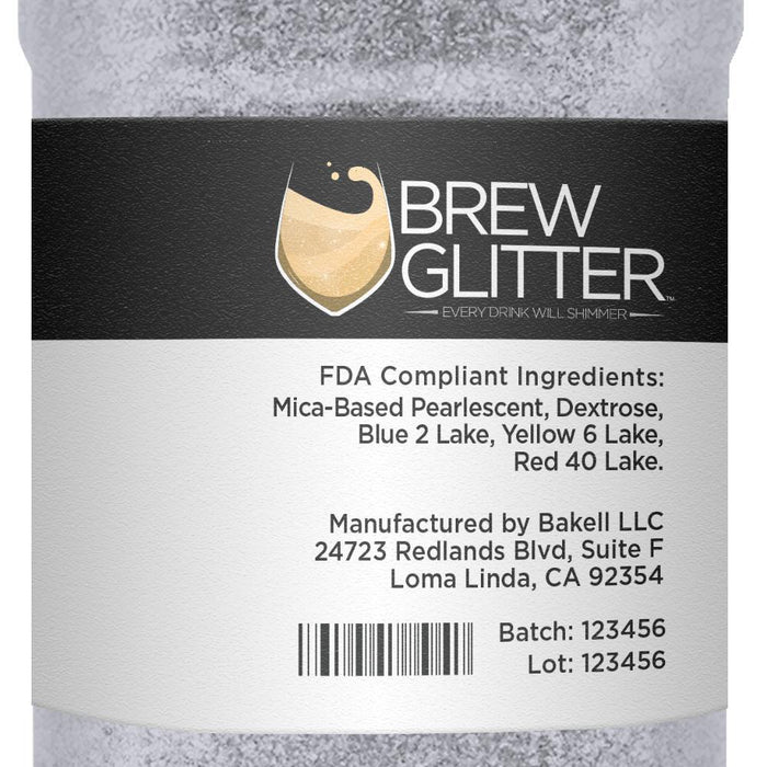 Silver Cocktail Drink Glitter-Cocktail Glitter-Bakell