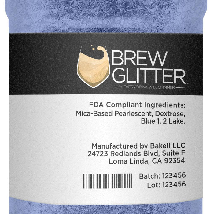 Sky Blue Edible Glitter for Beer & Drinks | Food Grade Brew Glitter-Beer Glitter-Bakell