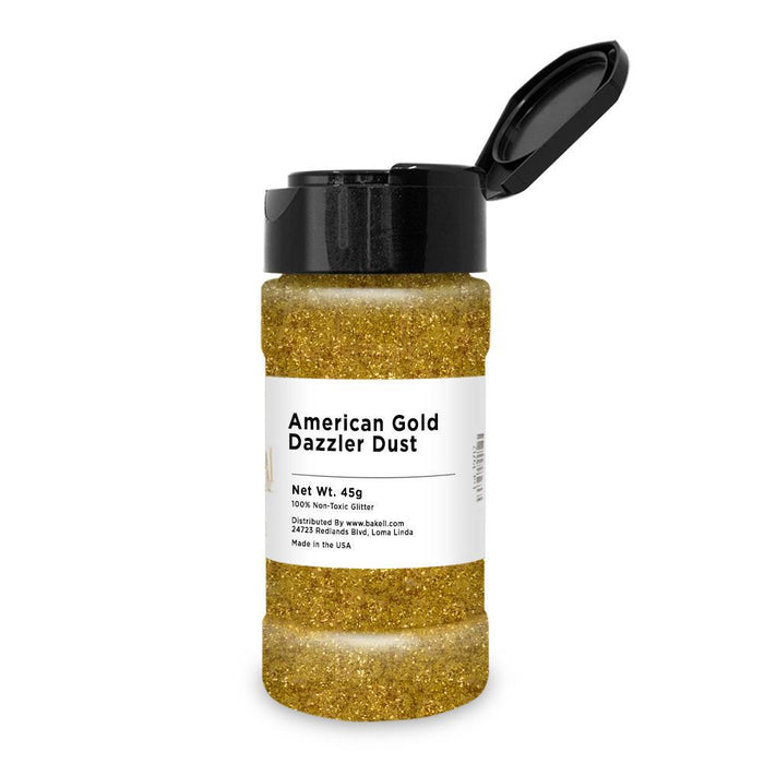 American Gold Decorating Dazzler Dust-Disco Dusts-Bakell