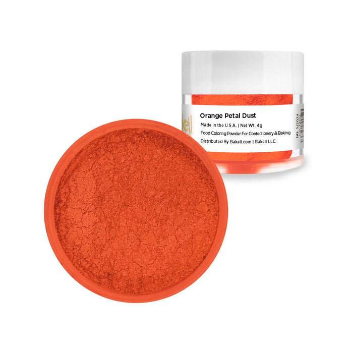 Orange Petal Dust | Food Coloring Powder-Petal Dusts-Bakell