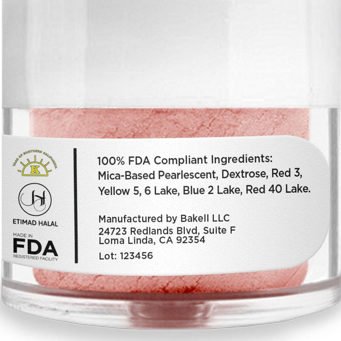 Pink Champagne Edible Luster Dust-Luster Dusts-Bakell